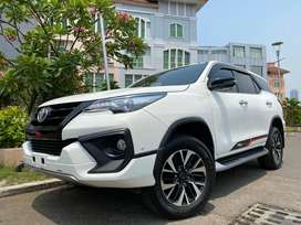 Fortuner 2.4 VRZ TRD Diesel 2019 White Km15rb #AUTOHIGH #MUST HAVE