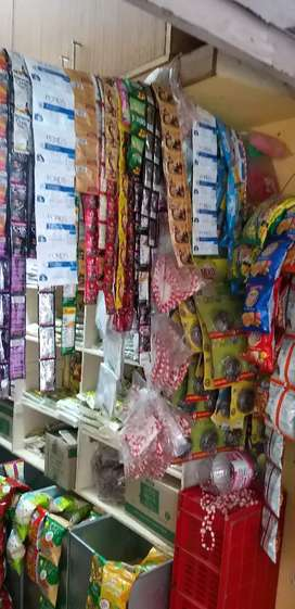 Am selling my provisional  store with semi furnished