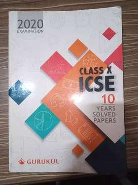 Class 10th icse 10year 2020