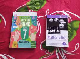 Set of two books- 'Oswaal Question Bank' and 'Ncert Exemplar'