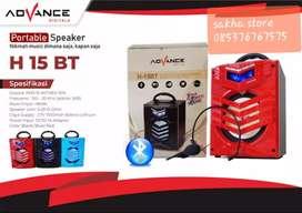 Speaker advance h15bt bluetoth karaoke