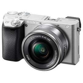 Sony Alpha a6300 With 16-50mm Kredit Mudah Dan Cepat.