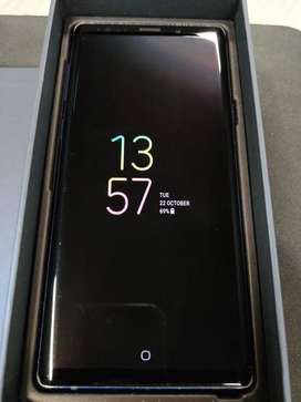 Samsung note 9 blue 128GB / 6GB colour Ocean blue, new condition