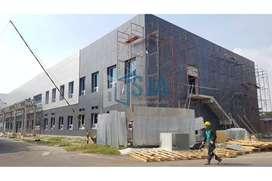 Jasa Pasang ACP Seven Marks, Kusen Aluminium, Cutting CNC di Madiun