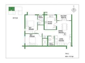 2 BEDROOM APPARTMENT