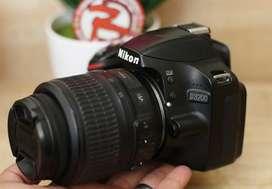 Nikon D3200 kit 18-55 VR Mulus Murah Normal