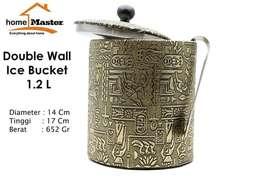 HomeMaster Ice Bucket Stainless Tempat Penyimpanan Es Batu Egypt