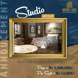 Get Rent Monthly 30,000 From Murree Oaks Apartments Studio for Sale