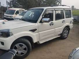 Mahindra Scorpio first owner white colour yes