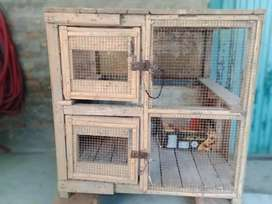 Cage in good condition.
