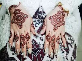 Henna art ( ukiran henna pengantin)