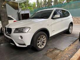 BMW X3 diesel 2011 white on black low kilometers