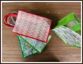 TAS ULANG TAHUN SPUNDBOND TAS SNACK LESS WASTE GO GREEN BAG