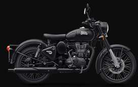ROYAL ENFIELD CLASSIC 500 NEW STEALTH BLACK  Bullet