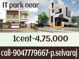 Land for sale in Saravanampatti IT park near Dtcp plots