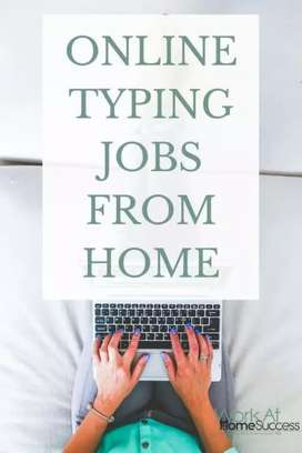 Here earning online sialkot workers need for online typing home job