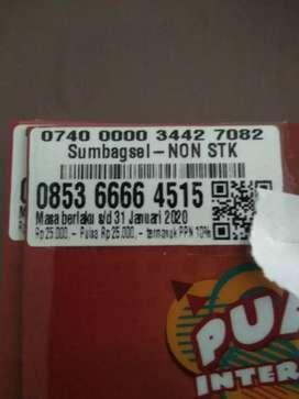 Kartu as 6666 lumayan Nomor Segel Yuk ganti Nomor hancur lebur