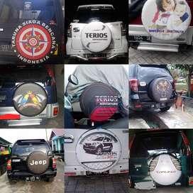 Toyota Rush/Terios/Panther/CRV/Cover/Sarung Ban Spektakuler Kuat jeep
