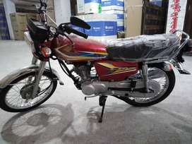 HONDA 125 ON INSTALLMENTS