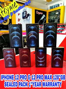 TRYME 128GB 12 PRO And 12 PRO MAX SEALED Pack 1Year Waranty Sema Offer