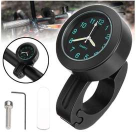 "Mini 7/8"" 1"" Universal Motorcycle Clock Motorbike Bike Handlebar Mount"