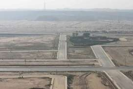 Bahria hills 500 square yard 3 side corner plot near iqra university.