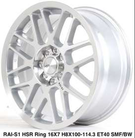 wheels wheels RAI-S1 HSR R16X7 H8X100-114,3 ET40 SMF