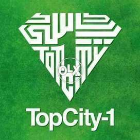Topcity commercial plot for sale size 990squar yard