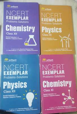 NCERT ExEMPLAR Problem-Solutions Physics and Chemistry class 11 and 12