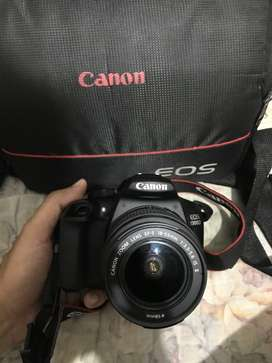 1300D cannon with 100gb memory card everything bought from honk Kong