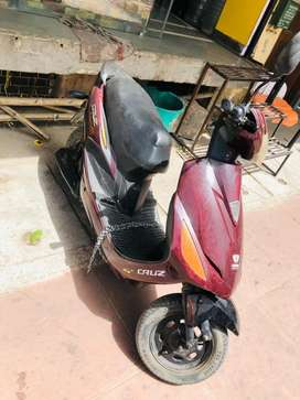Hero electric scooty