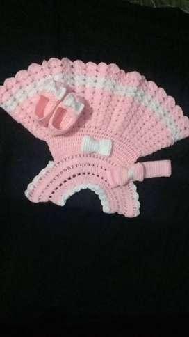 Baby Woolen Dress for Winters