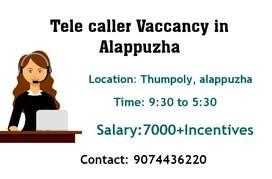 Tele caller jobs in thumpoly