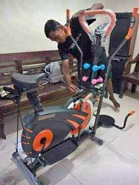 Sepeda fitnes fitur paling lengkap