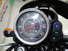 05¶ Gaspoll Gan Kawasaki W175 Cafe th 2019 Grey Mate - Eny Motor