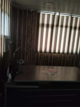 Full furnished 50 seat 3 cabin office for rent in 80 k tilak nagar