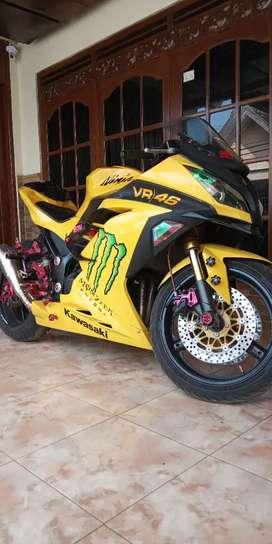 Kawasaki ninja 250 fi 2013 full modifikasi