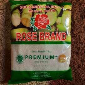 Gula Pasir Kemasan 1kg Rose Brand rosebrand murah