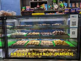 CAKE/BISCUIT/SWEETS DISPLAY COUNTER