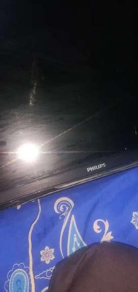 Philips led 32' lcd rusak