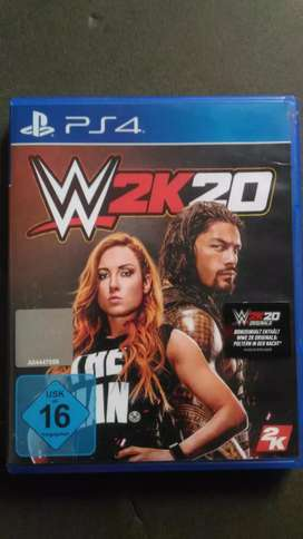BD KASET PS4 WWE 2K20