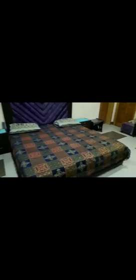 Bed low height Turkish style with under 4 boxes And two sight tables