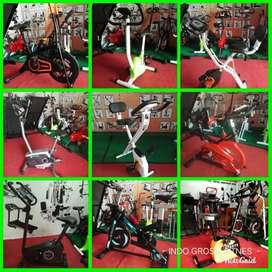 Alat fitness fitnes // sepeda statis // treadmill // homegym siap COD