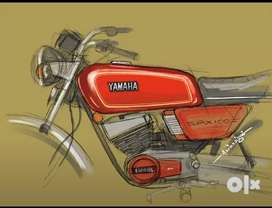 Yamaha RX100 BIKES FOR SELL