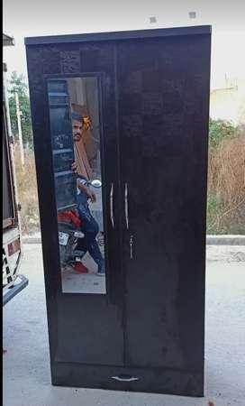 Brand New Double Door Almirah With Mirror