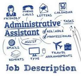 Receptionist and Councillor job in Institute
