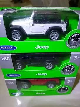 diecast jeep scale 1:60 welly series