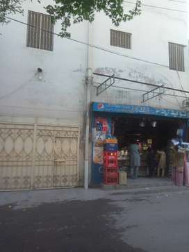 Park Facing 7 marla house with one shop in Justice Hamed Clny for sale