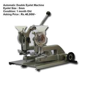 Paper Bag Machine Double Eyelet Machine for Sale