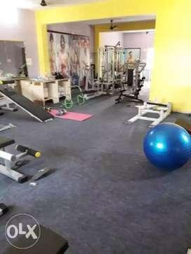 Full gym setup sale